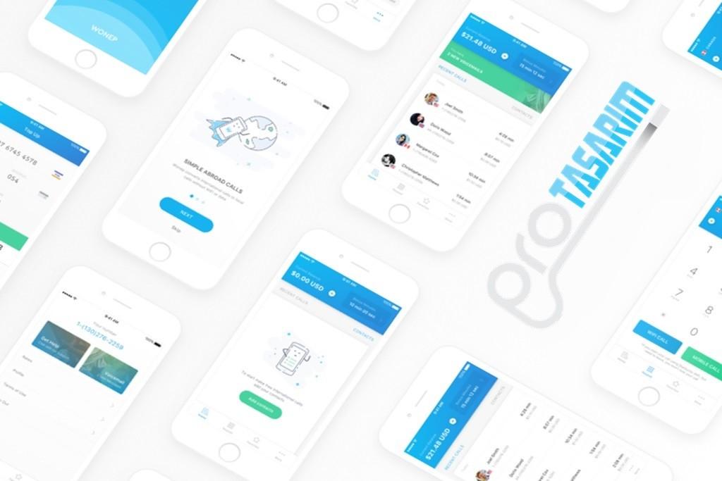 E Ticaret sitesi mobil uygulama