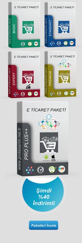 Opencart E-Ticaret Paketleri