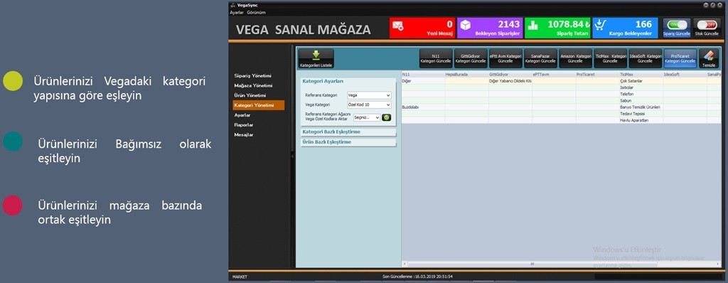 Vega Web Mağaza