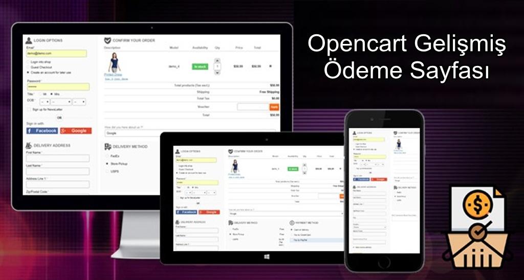 Opencart Tek Sayfa Pro